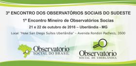 Encontro dos Observatórios Sociais do Sudeste