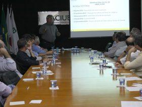 Diretores da Aciub participam de apresentação sobre o Observatório Social de Uberlândia